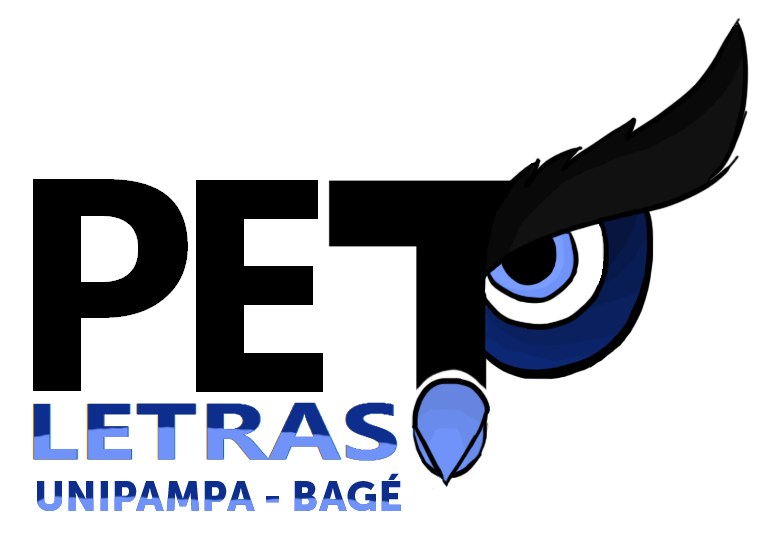 logo PET letras com nome do campus